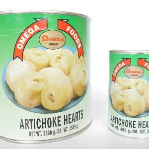 Omega Artichoke Hearts