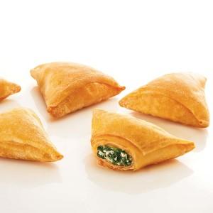 Famiglia Spinach and Fetta Triangles